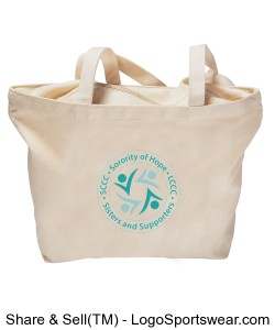 SCCC/LCCC Shopping Tote Design Zoom
